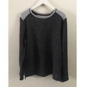 Tommy Bahama Grey Colorblock Pullover Sweater M